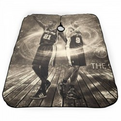 Excellent Quality NBA San Antonio Spurs Haircut apron 55*66 in #175157 soft and smooth, fine workmanship
