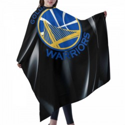 Excellent Quality NBA Golden State Warriors Haircut apron 55*66 in #179447 Unisex Barbers for Hair Cutting Apron